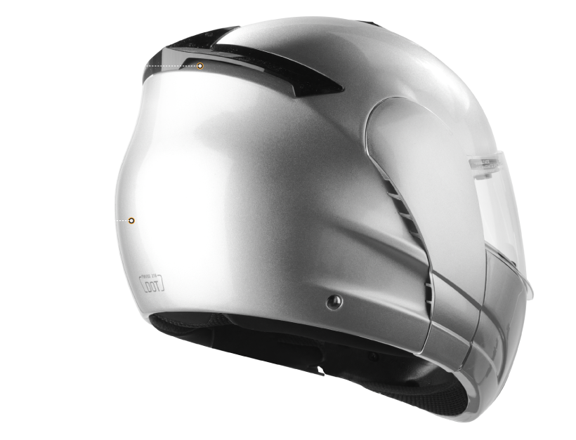 VCAN Commando Modular Full-Face Helmet